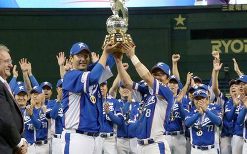 Southe Korean Baseball Team. Photo taken from http://english.yonhapnews.co.kr