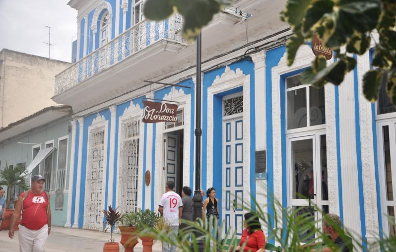 Don Florencio Hotel in Sancti Spiritus. Photo: Vicente Brito/Escambray.