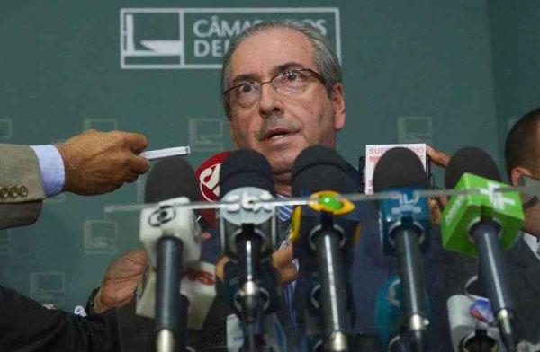 Eduardo Cunha. Photo taken from correiobraziliense.com.br