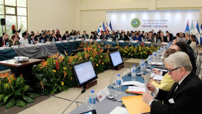 SICA Member Countries Analyze Central American Integration. Photo taken from http://www.rree.gob.sv