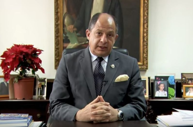 Luis Guillermo Solis. Photo taken from http://www.nacion.com