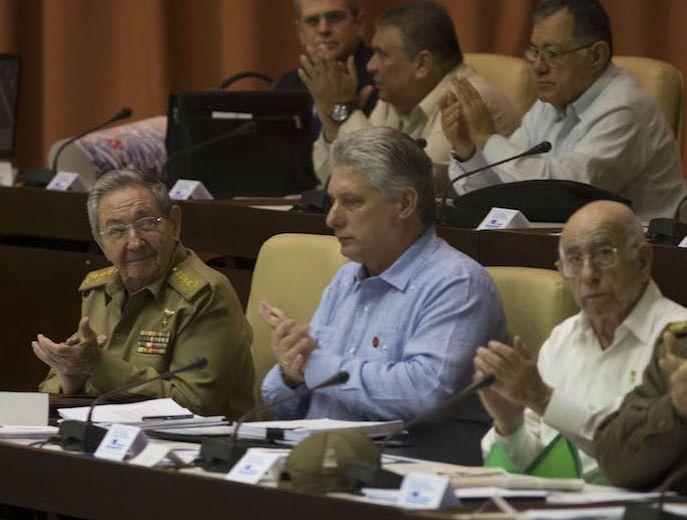 Raul Castro Present in Plenary Session of Cuban Parliament. Photo: Ismael Francisco