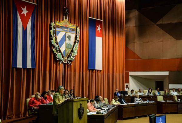 Raúl Castro Closes Plenary Session of Cuba Parliament. Photo: ACN
