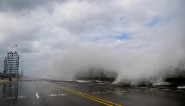 Cuban Northern Coasts Hit by Cold Front Associated Floods. Photo: ACN
