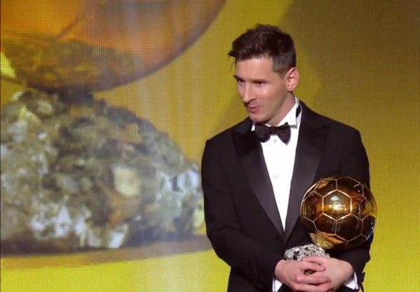 Messi pips Ronaldo to win record fifth Ballon d'Or