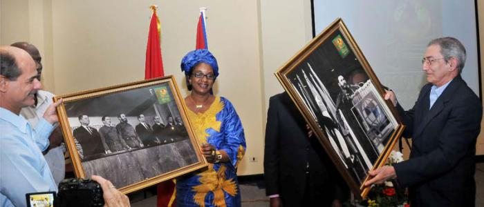 Cuba President Raul Congratulates OSPAAAL on 50th Anniversary. Photo taken from granma.cu
