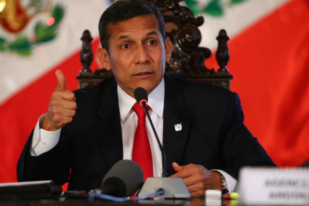 Peruvian President Ollanta Humala Pays Official Visit to Cuba. Photo taken from www.americatv.com.pe