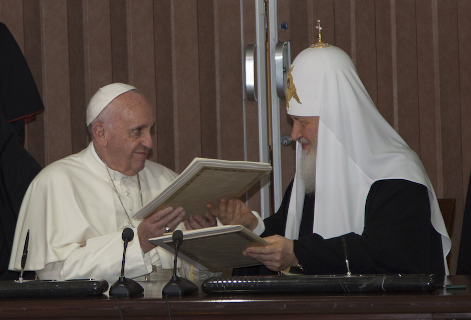 Fidel Castro Highlights Importance of Pope Francis-Kirill Meeting in Cuba.