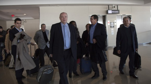 Cuban Foreign Trade Minister Begins Working Visit to the USA. Photo taken from cubadebate.cu