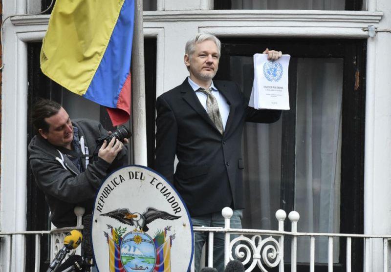 Julian Assange Urges UK, Sweden to Follow UN Panel Ruling