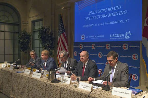 Cuba, US Chambers of Commerce to Foster Relations. Photo taken from cubadebate.cu