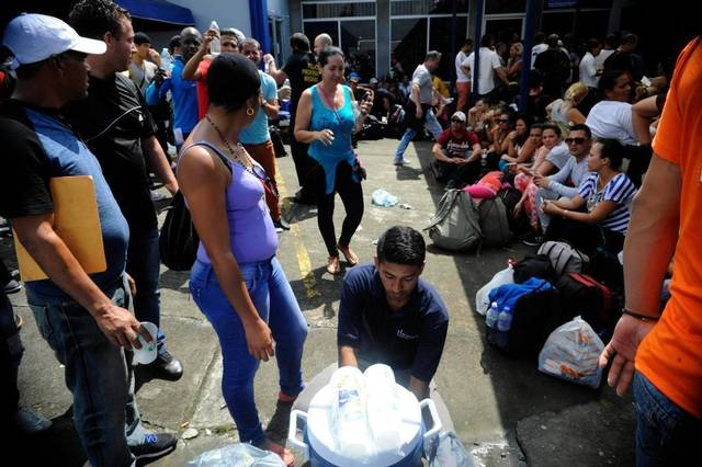 New Group of Cuban Migrants Leave Costa Rica for the U.S.A. Photo: Internet