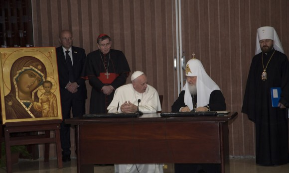 Pope Francis in Havana: Cuba to be the Capital of Unity. Photo taken from cubadebate.cu