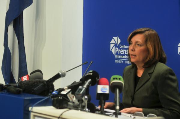 Josefina Vidal: Cuba Ready to Talk on Any Topic with US President. Photo: ACN