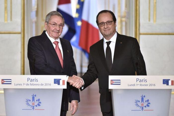 raul-y-fFrance and Cuba Reaffirm Willingness to Strengthen Bilateral Relation. Photo: elmundo.es
