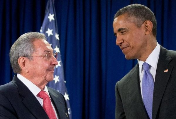 Raul Castro and Barack Obama. Photo: AP