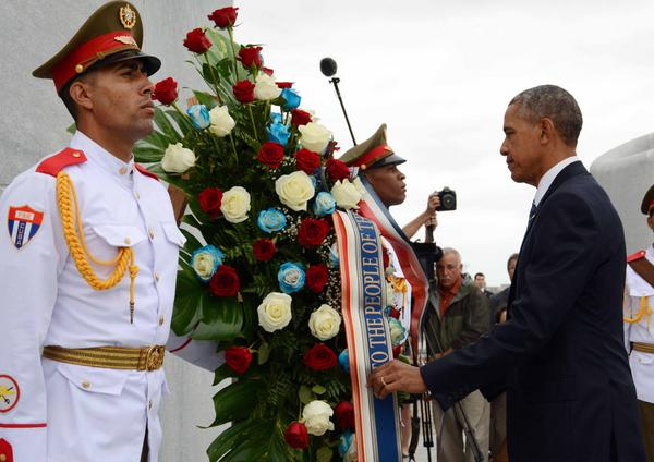 Barack Obama Honors Cuban National Hero Jose Marti. (Photo: ACN)