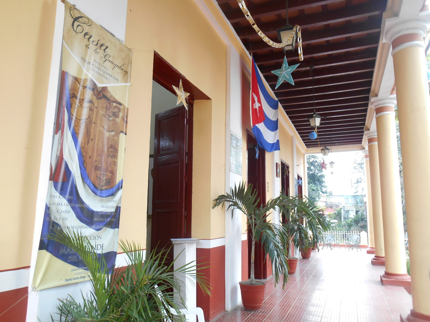 The guayabera museum was opened in the former Quinta Santa Elena Restaurant. Photo: A. del Valle.