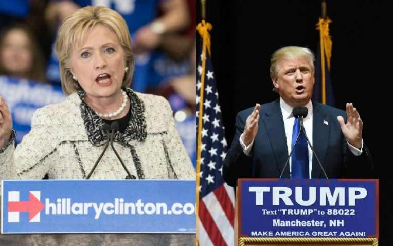 Hillary Clinton, Donald Trump Seek Crucial Victory in U.S. Primaries