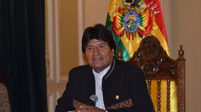 Bolivian Government Says Opposition Readies to Overthrow President. Photo taken from http://www.la-razon.com