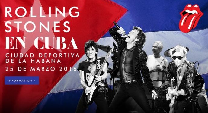 Cuba Confirms Performance of Rolling Stones in Havana. Photo taken from http://www.rollingstones.com