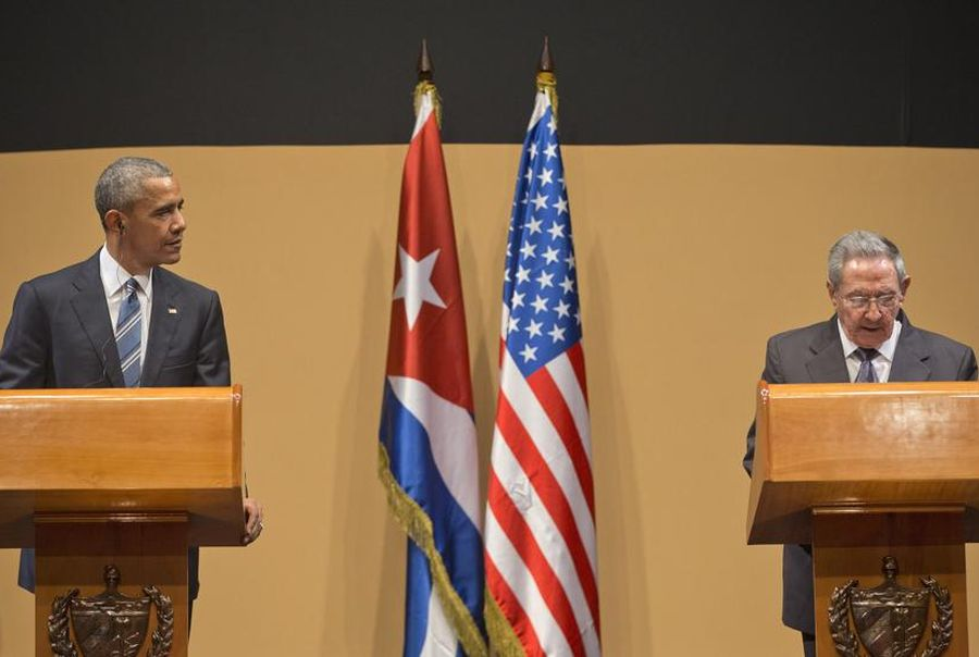 Raúl Castro Praises Results Attained in Cuba-U.S.A. Relations. (Photo taken from twitter)