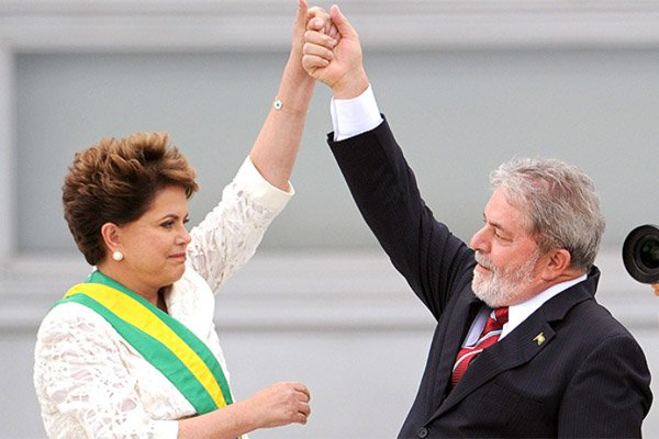 Lula Might Become Member of President Rousseff Cabinet. Photo taken from http://noticiaaldia.com