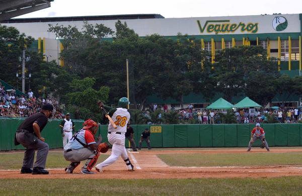 Pinar del Rio, Ciego de Avila Baseball Teams to Play Fifth Game (Photo: ACN)