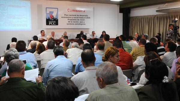 7th Congress of the PCC: Working Committees Continue Sessions (Photo: ACN)