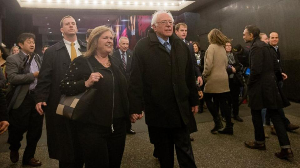 Bernie Sanders Call to Fight World Social Inequality (Photo taken from gma.yahoo.com)