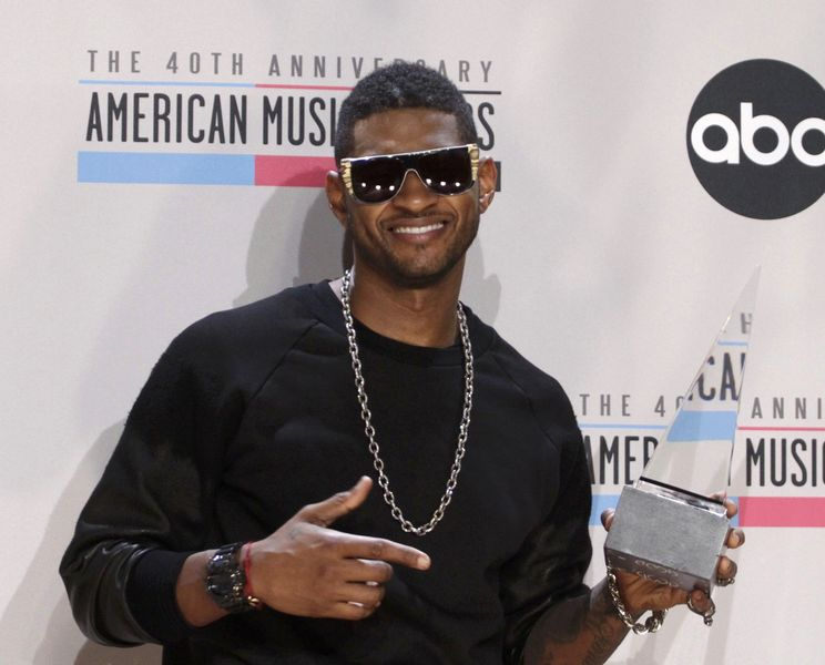 Usher is one of the US artists that will be coming to Cuba (File photo taken from REUTERS)