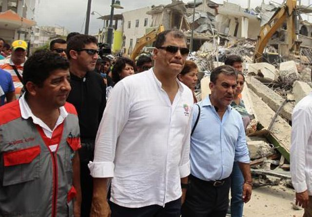 Ecuadorian President Rafael Correa Says Cuba is Champion of Solidarity (Photo: EFE)