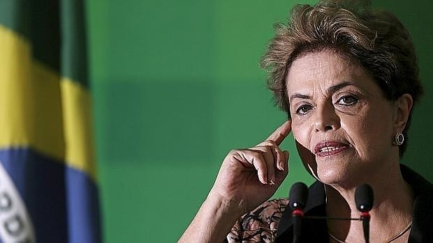 Brazilians Protest in New York to Reject Coup against Dilma Rousseff (Photo: EFE)