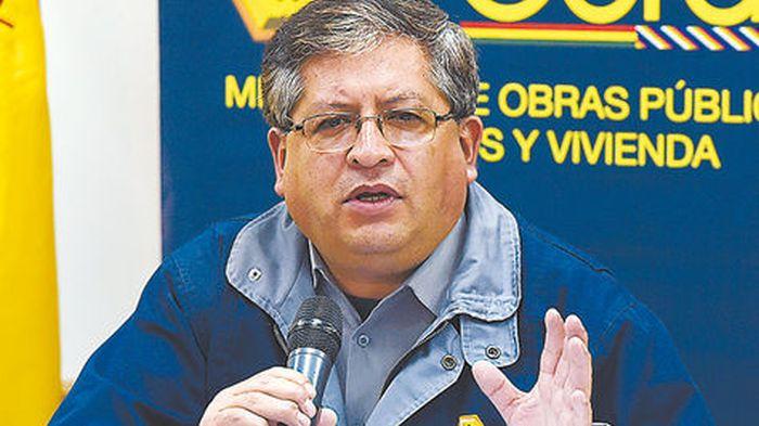 Bolivian Deputy Minister Bony Morales (Photo taken from http://www.la-razon.com)