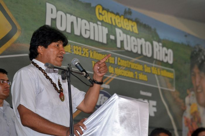 Evo Morales to Arrive in Cuba Thursday for Official Visit (Photo taken from http://www.abi.bo/abi/)