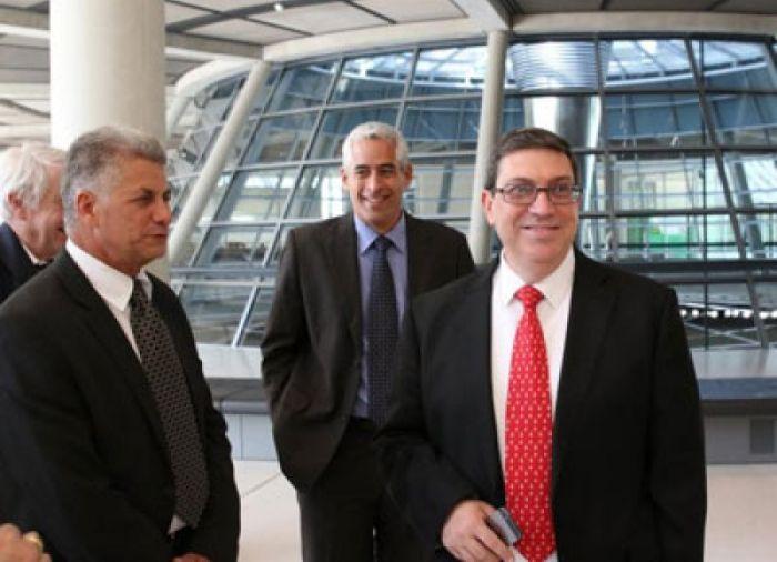 Cuban Foreign Minister Visits German Federal Parliament