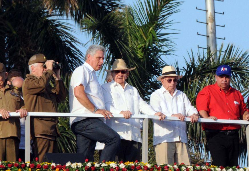 Raul Castro Chairs Workers' Day Commemoration in Havana (Photo: ACN POR EL PRIMERO DE MAYO