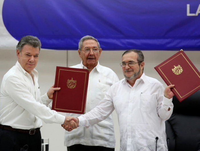 Raul Castro: Colombia Peace Process is Irreversible (Photo taken from Twitter)