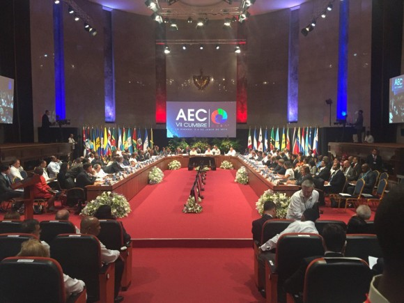 Raul Castro Calls for Solutions at 7th ACS Summit in Havana. (Photo taken from cubadebate.cu)