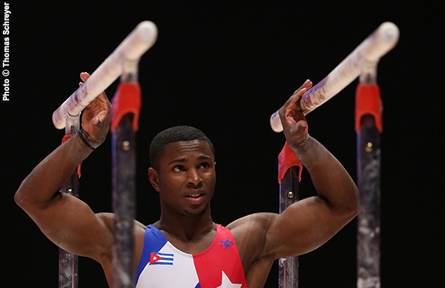 Cuban Gymnasts Win Bronze Medals in World Challenge Cup (Photo taken from www.intlgymnast.com)