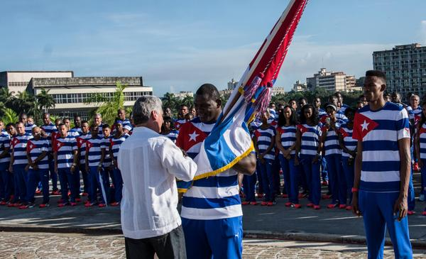 Cuban Athletes Ready for Rio 2016 Olympic Games (Photo: ACN)