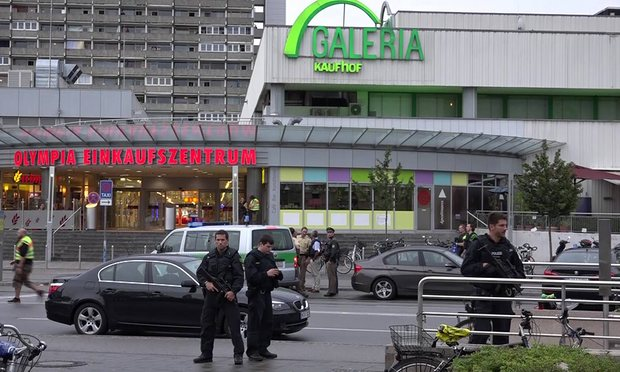 Germany Authorities Report 10 Dead at Munich Shooting (Photo taken from www.theguardian.com)