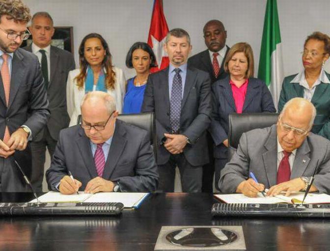 Cuba and Italy Regularize Bilateral Debt (Photo: Jose M. Correa)