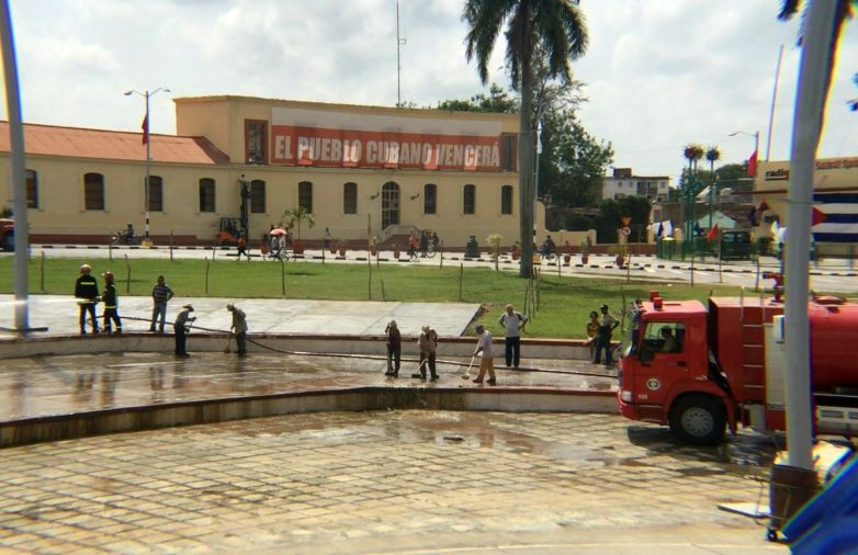 sancti spiritus en 26, cuba, 26th of july, moncada garrison attack, serafin sanchez revolution square