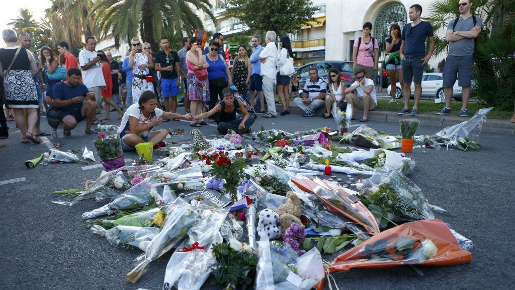 France Pays Tribute to Victims of Terrorist Attack in Nice (Photo taken from www.timesofisrael.com)