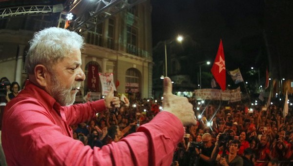 Brazil: Lula Favored in 2018 Election, Temer Tanks at 5% (Photo taken from http://www.telesurtv.net)