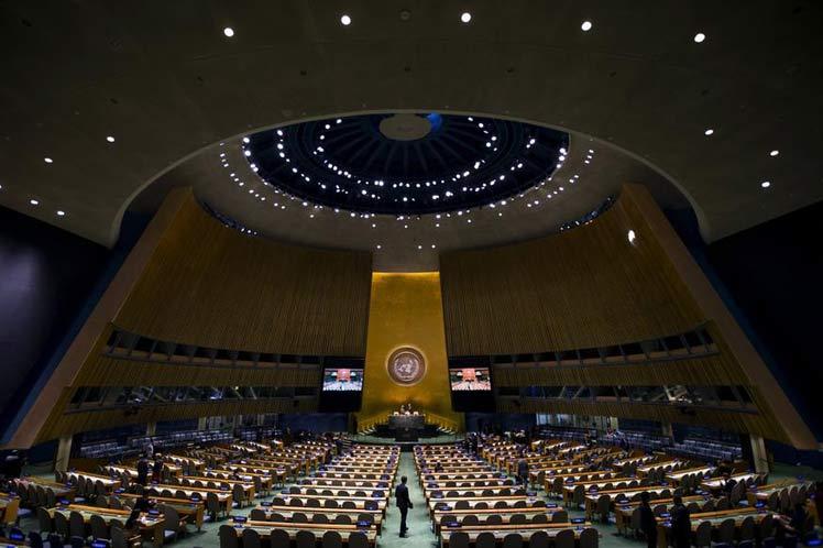 escambray today, un general assembly, us blockade of cuba, embargo