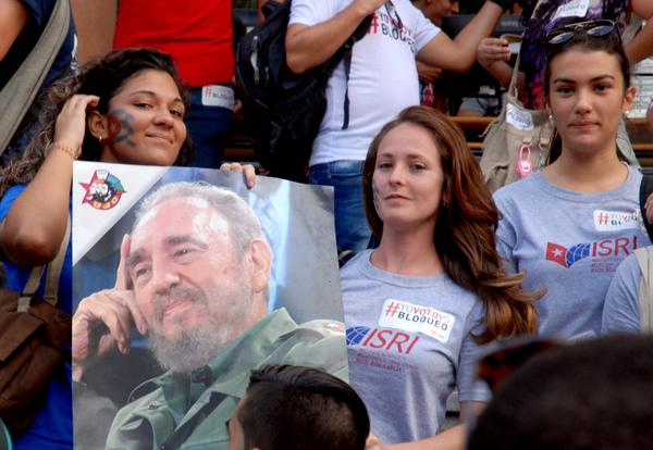 escambray today, us blockade of cuba, university of havana, josefina vidal, barack obama