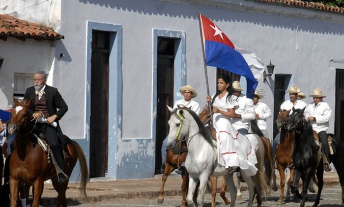 escambray today, cuban day of natinal culture, cuban national anthem, bayamo, perucho figueredo