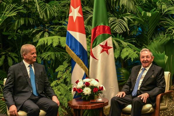 escambray today, cuba, algeria, raul castro